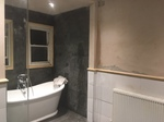 Tiling of Bathroom with Freestanding Bath