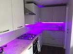 Kitchen Fitters Carlisle - Purple Lighting