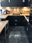Kitchen Units, Lights and Flooring