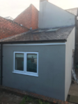 Single Floor Extension Sloping roof